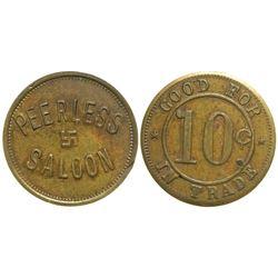 Peerless Saloon Token  (89069)