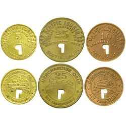 Pacific Lumber Co. Tokens  (90337)