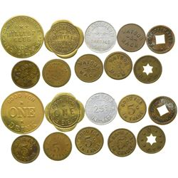 Stanislaus County Tokens  (100496)