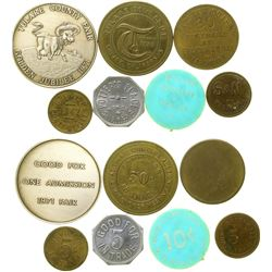 Tulare County Tokens  (100491)