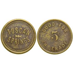 Tuscan Springs Token  (100495)