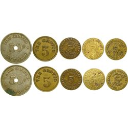 Yuba County Tokens  (100399)