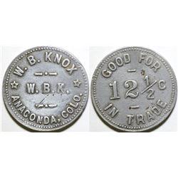 W.B. Knox Token  (101882)