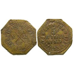 Parteli & Bensel Bar Token  (101885)