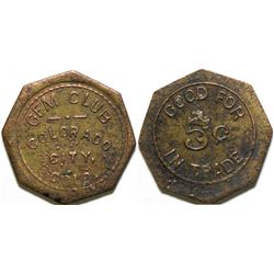 Gem Club Token  (101887)