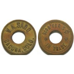 W.A. Sadd Token  (101891)