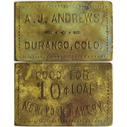 A.J. Andrews Token  (101893)