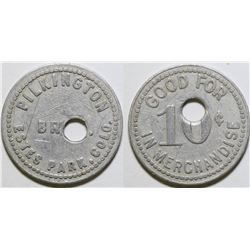 Pilkington Brothers Token  (101895)