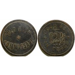 Gold King Commissary Token  (101899)