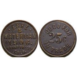 Eshe & Waterman Token  (101902)