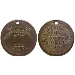 Victor-American Fuel Company Token  (101929)