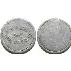 A.B. Carey Token  (101906)