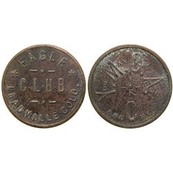 Eagle Club Brothel Token  (101805)