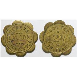Geneva Saloon Token  (101911)