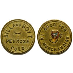 Bill and Hoyt Token  (101912)