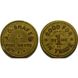 A.O. Shafer Token  (101913)