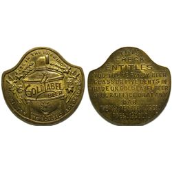 Walter Brewing Company Token  (101915)