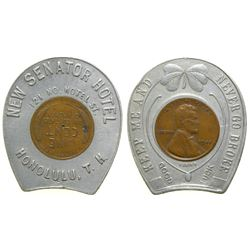 New Senator Hotel Brothel Token  (101807)