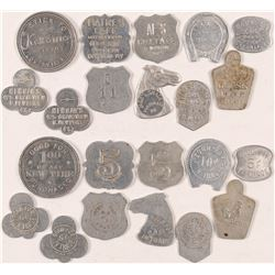 Unusually Shaped Kentucky Tokens  (100505)