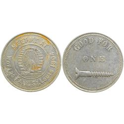 World's Fair Brothel Token  (101992)