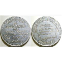 Anaconda Aluminum Medal  (100498)
