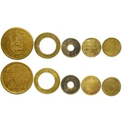 Five Montana Tokens  (100384)