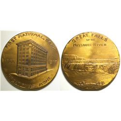 First National Bank Medal  (100500)
