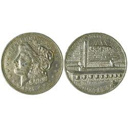 10,000 Silver Dollar Bar Medal  (90320)