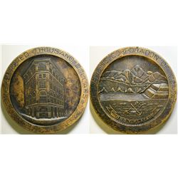 Banking Corporation of Montana Medal  (100499)