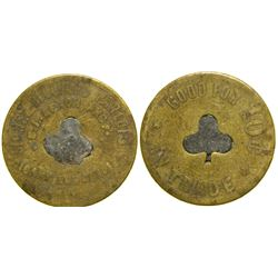Sidney Billiard Parlor Token  (100383)