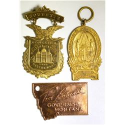 Three Montana Medals  (100533)