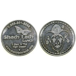 Shady Lady Ranch Brothel Token  (101816)