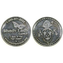 Shady Lady Ranch Brothel Token  (101816)