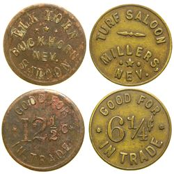 Nevada Saloon Tokens  (90335)