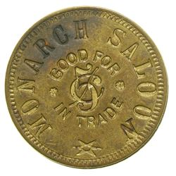 Monarch Saloon Token  (101205)
