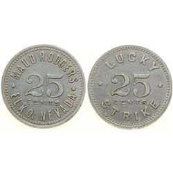 Maud Rodgers, Lucky Strike Brothel Token  (101825)