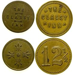 The Classy Inn Brothel Tokens (2)  (101827)