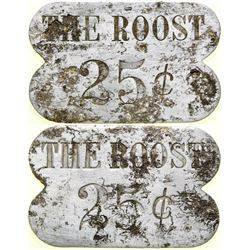 The Roost Brothel 25-cent Token  (101833)