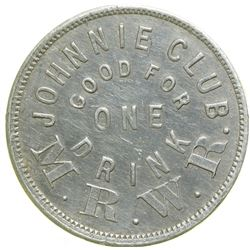 Johnnie Club token  (89049)
