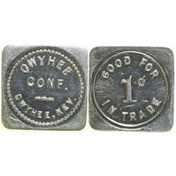 Owyhee Conf. Token  (89050)