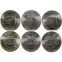 Chicken Ranch Brothel Tokens (3)  (101843)