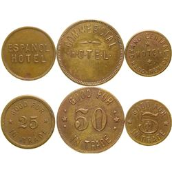 Reno Hotel Tokens  (90382)