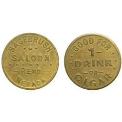 Sagebrush Saloon Token  (90331)