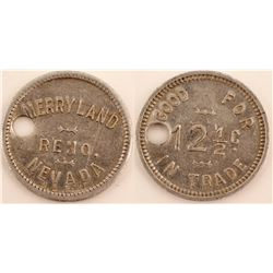 Merryland Adult Entertainment Token  (99363)
