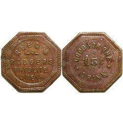 Reed & Rodgers Token  (89010)