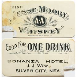 Bonanza Hotel Drink Coupon  (90394)
