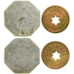 Bank/Oasis Saloon Tokens  (90398)