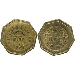 Williams & Prater Token  (90386)