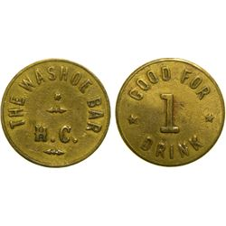 Washoe Bar Token  (89182)