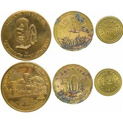 Three Nevada Tokens  (101164)